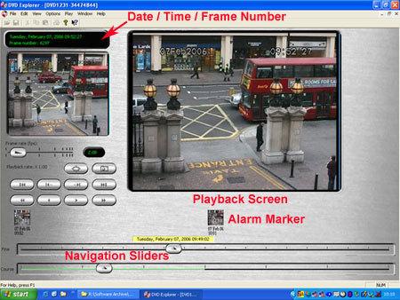 DVD-Explorer Main Screen